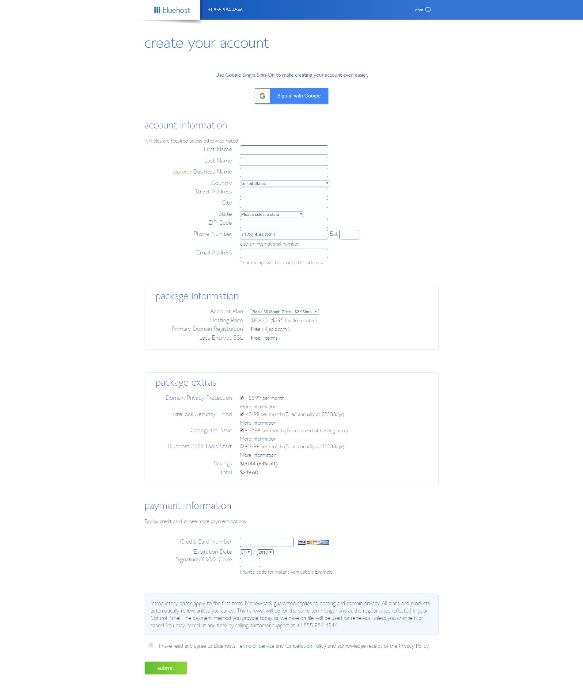 مضيف الويبWeb Host والدومينDomain