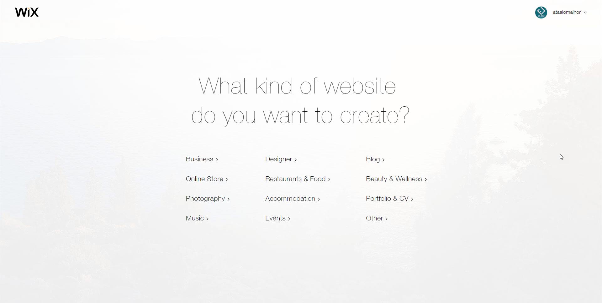 شرح كيفية إنشاء موقع ويب باستخدامWix