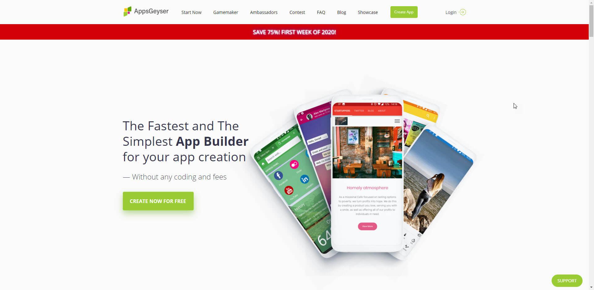 شرح موقع AppsGeyser