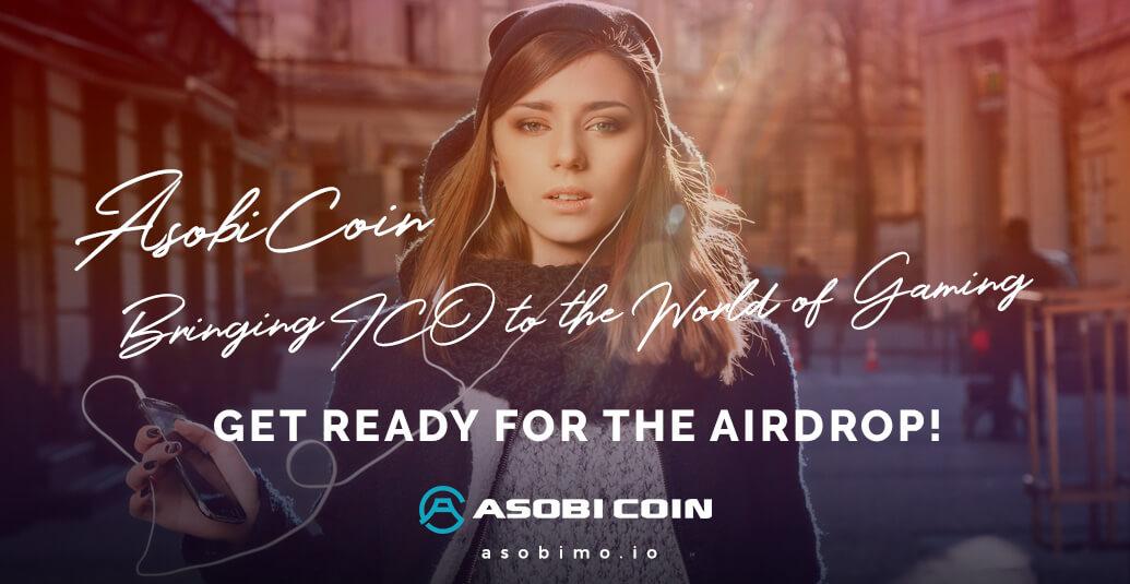 مشروع تسويق المحتوى الرقمي الثانوي ASOBI COIN تطلق حملة ICO