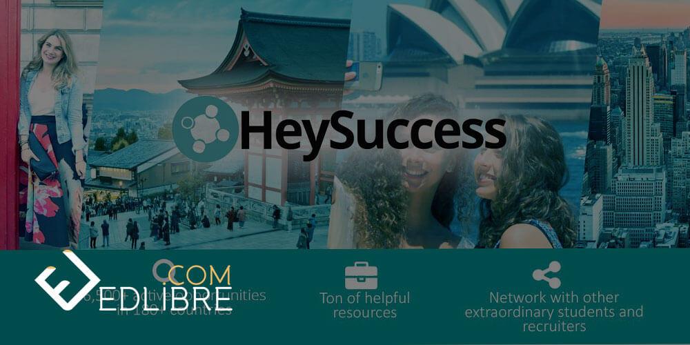 موقع heysuccess للحصول على منحة دراسية او تدريبية حول العالم