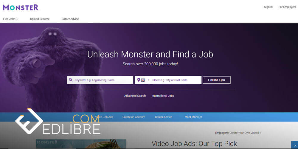 قائمة مواقع للبحث عن وظائف