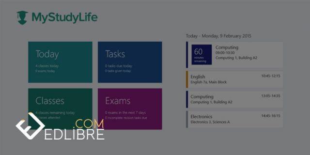 تطبيق لتنظيم الوقت My Study Life