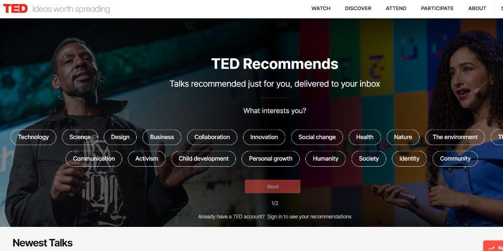 موقع تيد TED
