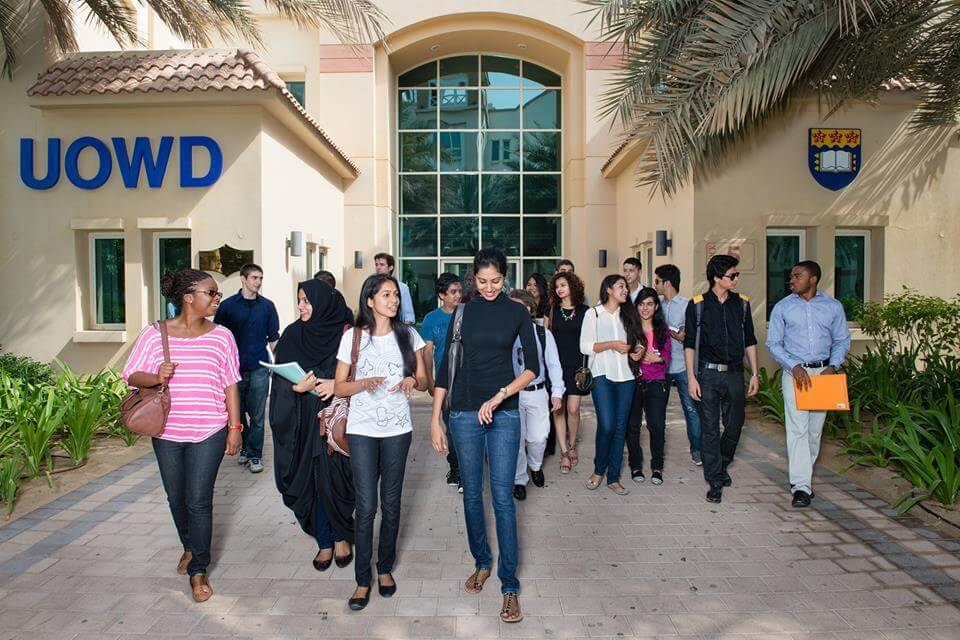 منح الاستحقاق الأكاديمي من جامعةWollongong في دبي 2019