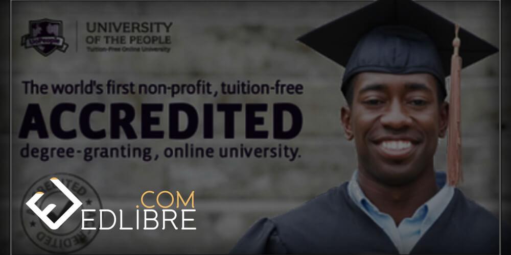 الدراسة مجانا و عبر الإنترنت في جامعة الناس University of People