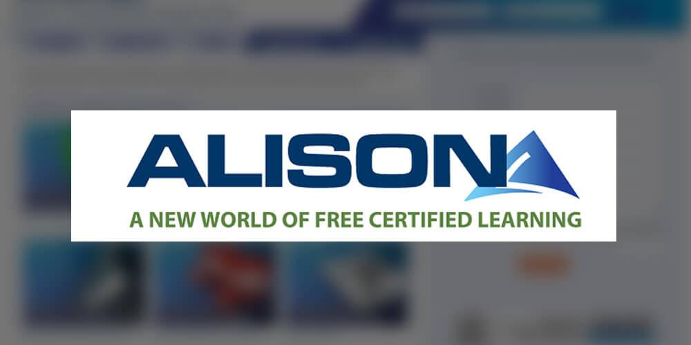 alison - أفضل المواقع المجانية للتعلم عن بعد