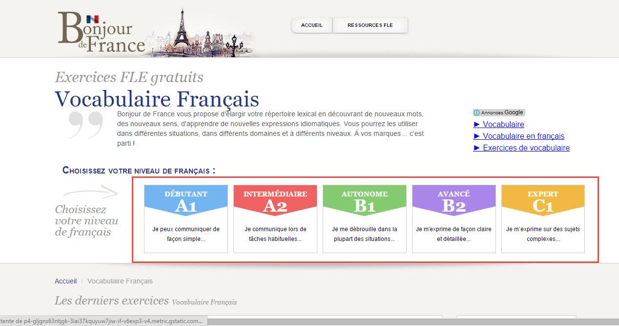 تعلم اللغة الفرنسية اون لاين من أحسن المواقع