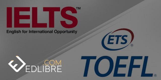 دراسة و اجتياز امتحان الانجليزية الايلتس IELTS و توفل TOEFL