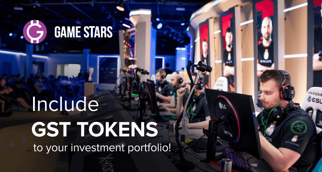 آخر فرصة للشراء رموز GST الخاصة بمنصة Game Stars مع 30٪ مكافأة