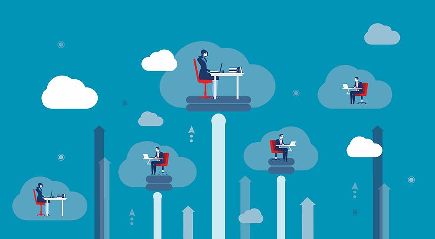 برنامج ماجستير عبر الإنترنت في Cloud