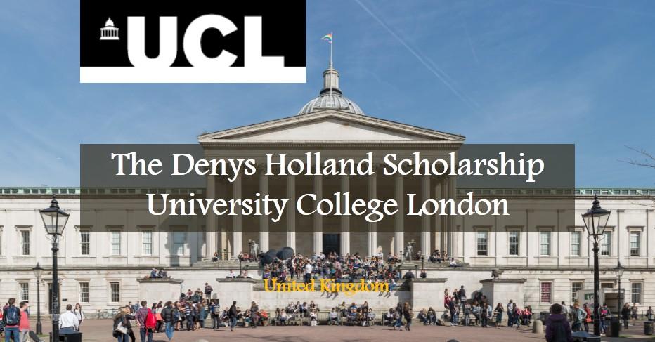 منحة Denys Holland في جامعة كلية لندن لعام2017