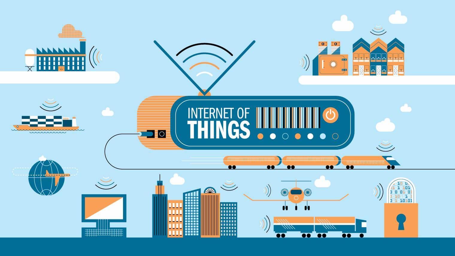 إنترنت الأشياء Internet of Things او IoT